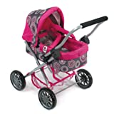 CHIC 2000 Bayer Smarty Cosy Pearls Pram (Small, Hot Pink)