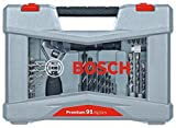 "Bosch 2608P00235 Drill Bit-/Screwdriver Accessories set""premium"" 91 Pcs"