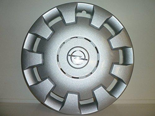 Juego de Tapacubos 4 Tapacubos Diseño de Vauxhall Corsa D Desde 2006 r 15 () Logo Cromado: Amazon.es: Coche y moto