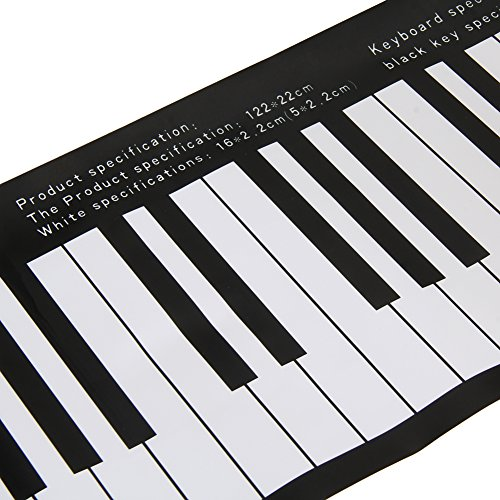 easydeal 88 key full size piano practice sticker musical keyboard decor arts entertainment. Black Bedroom Furniture Sets. Home Design Ideas