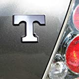 University of Tennessee Volunteers ''Power T'' Chrome Plated Premium Metal Car Truck Motorcycle Emblem
