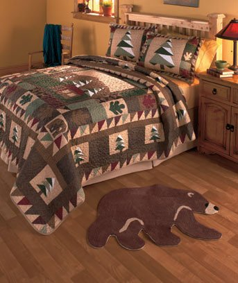 Big Pine Lodge Bed in a Bag Collection Full/queen