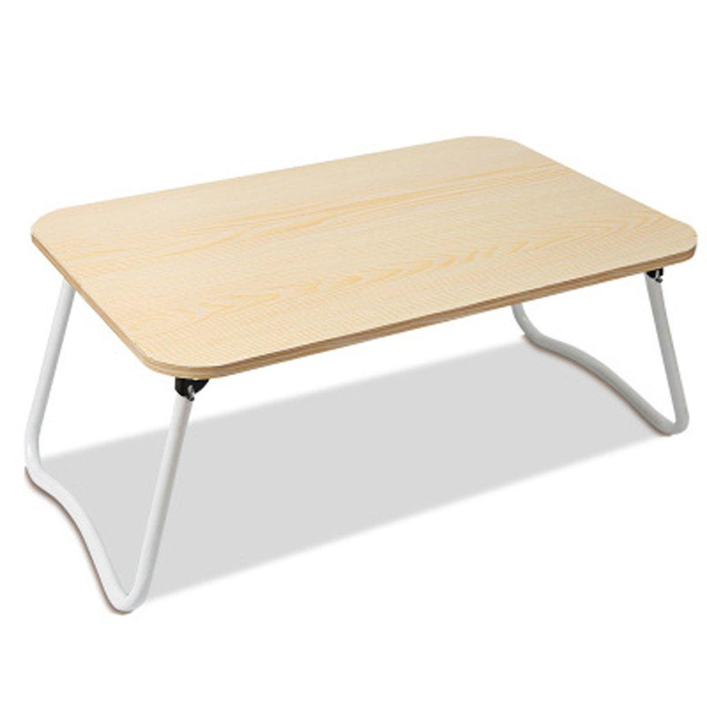 MEILING Mesa Plegable de Color Blanco Arce Mesa Escritorio Simple ...