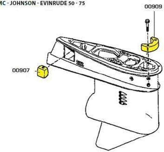 Girante JOHNSON 3//6 HPMarca VDO Marine52.300.10