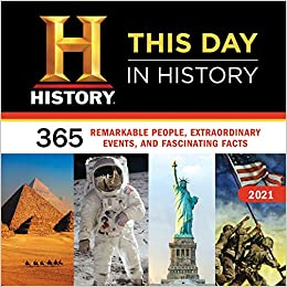 Best History Books 2021 2021 History Channel This Day in History Wall Calendar: 365