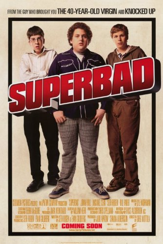 (Superbad Group Movie Poster)