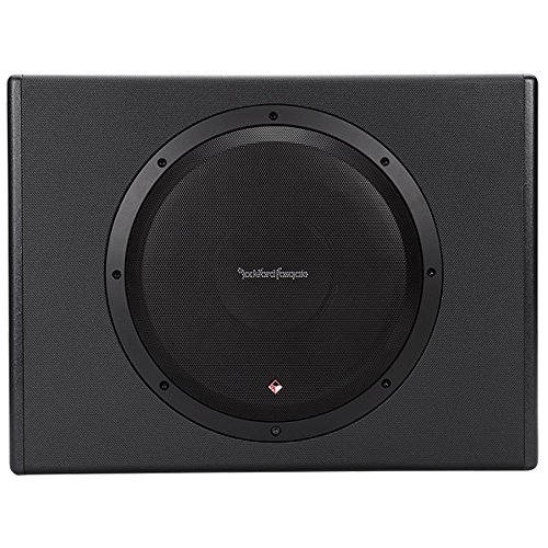 Rockford Fosgate P300-12 Punch 300 Watt Powered Loaded 12-Inch Subwoofer Enclosure (12 Inch Subwoofers In Box With Amp)