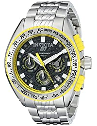 Invicta Men's 18928 S1 Rally Analog Display Quartz Silver Watch