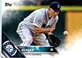 2016 Topps #5 Kyle Seager Seattle Mariners Baseball Card in Protective Screwdown Display Case