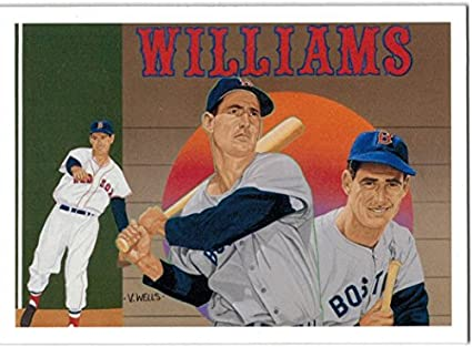 Amazoncom 1992 Upper Deck Ted Williams Baseball Heroes Set Of 9
