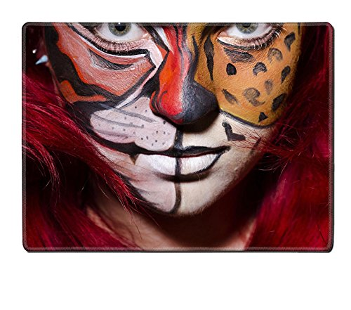 MSD P (Face Painting For Lion Costume)