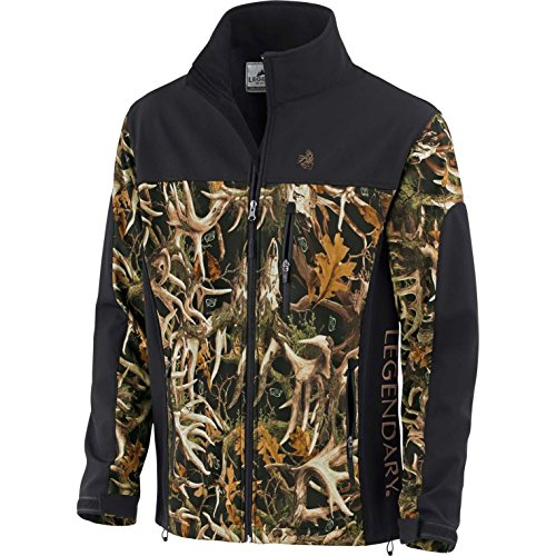 Legendary Whitetails Mens Hurricane Softshell Jacket XX-Large