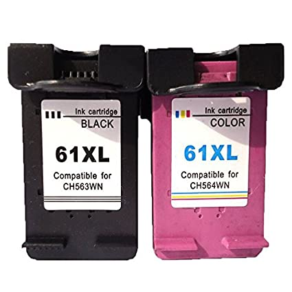 4 inx remanufacturados cartuchos de tinta para HP 61 X L negro ...