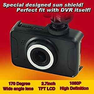 "XIMKCOD 2.7"" LCD Full HD 170¡« 1080P Car Camera DVR Camcorder Motion Detection File Locking ISHARE HCR-3551"