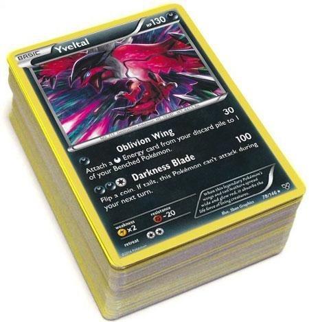 Pokemon X & Y Lot of 100 RANDOM Cards [10 Rares, 30 Uncommons and 60 Commons] by Pokemon x, pokemon y by xypokemon