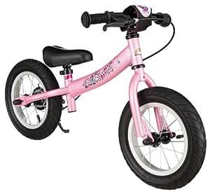 BIKESTAR® Premium 30.5cm (12 pulgadas) Bicicleta sin pedales para las princesas mas pequeñas a partir de los 3 años ★ Edición Sport ★ Rosa