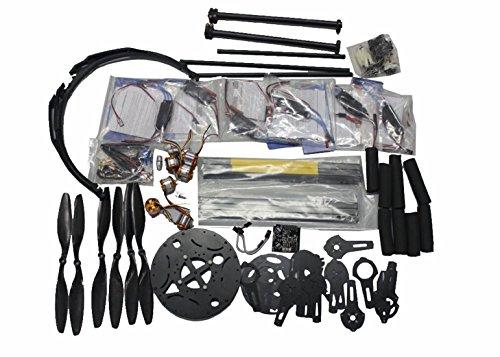 Generic ATG 700mm 6-Axis Frame Kit+ KK+ Motor+ HOBBYWING ESC+ Carbon Fiber Pros