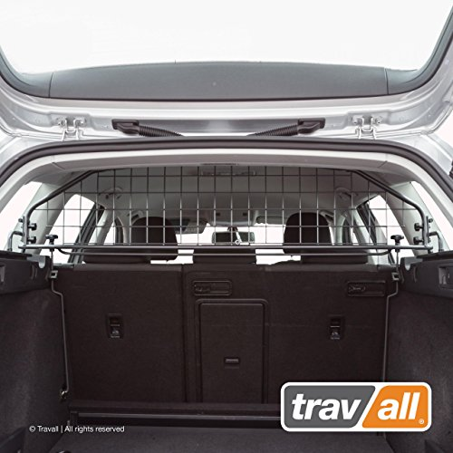 Travall Guard Compatible with Volkswagen Golf Wagon (2013-Current) Also for Volkswagen Golf Alltrack TDG1407 [Models Without Sunroof Only] - Rattle-Free Steel Pet Barrier