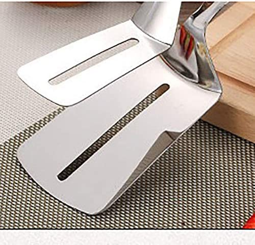 HANGJIA Stainless Steel Barbecue Bread Clip Buffet Steak Clip Food Clip Barbecue Shovel Kitchen Tools*2
