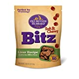 Old Mother Hubbard Snacks for Dogs Soft and Chewy Bitz, Liver Recipe, 6-Ounce Pouch, My Pet Supplies