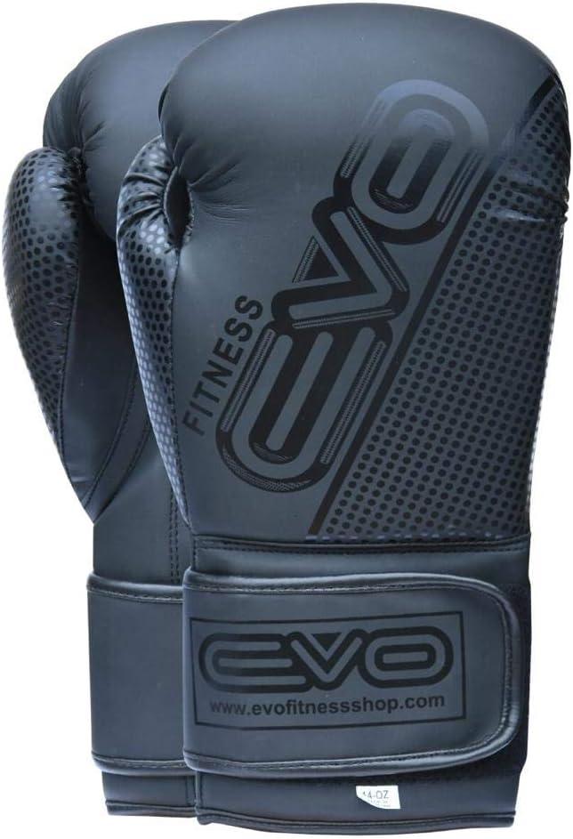 Sparring Kickboxen EVO Maya Hide Pro Gel-Boxhandschuhe f/ür MMA-Boxsack Kampfsport Trainingshandschuhe mit gratis Boxbandagen Muay Thai