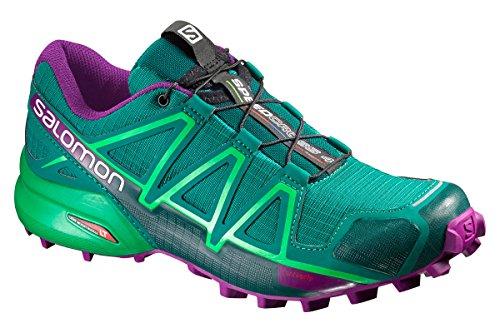 Salomon Damen Trail Running Schuhe Speedcross 4 Veridian Green/Athletic Green X/PAS 41 1/3