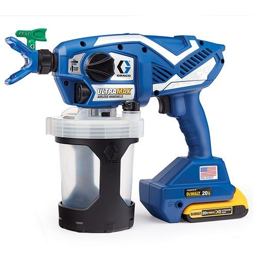 - Graco Ultra Max Cordless Airless Handheld Paint Sprayer 17M367