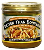 Better Than Bouillon Organic Roasted Chicken Base, Reduced Sodium - 3Pack (16 oz Each)