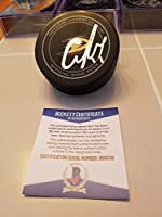 Corey Perry Signed Ducks Official Game Puck - Beckett Certified