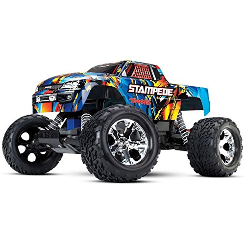 3 Channel All Star Receiver (Traxxas Stampede 1/10 Scale 2WD Monster Truck with TQ 2.4GHz Radio, Rock N' Roll)