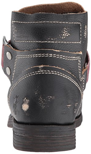 047 Black London Fly Boots Saji Womens Leather SPxqw