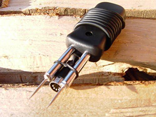 Holzfeuchtemessgerät Feuchtemesser Brennholz Kaminholz