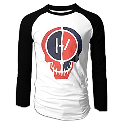 Men Twenty One Pilots Heathens Raglan Baseball T-Shirt