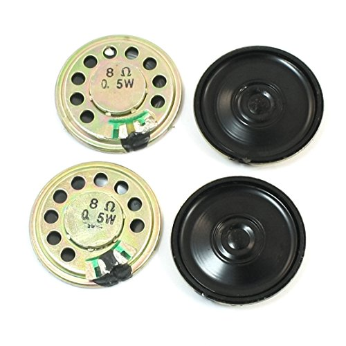 uxcell Replacement 30mm Internal Magnet Mini DVD EVD Speaker