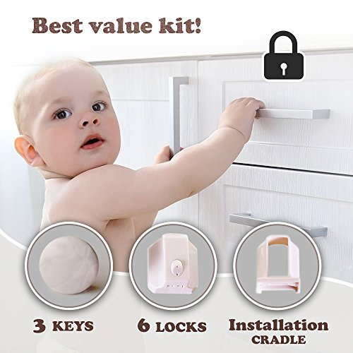 Magnetic Baby Cabinets Effortless Installation product image