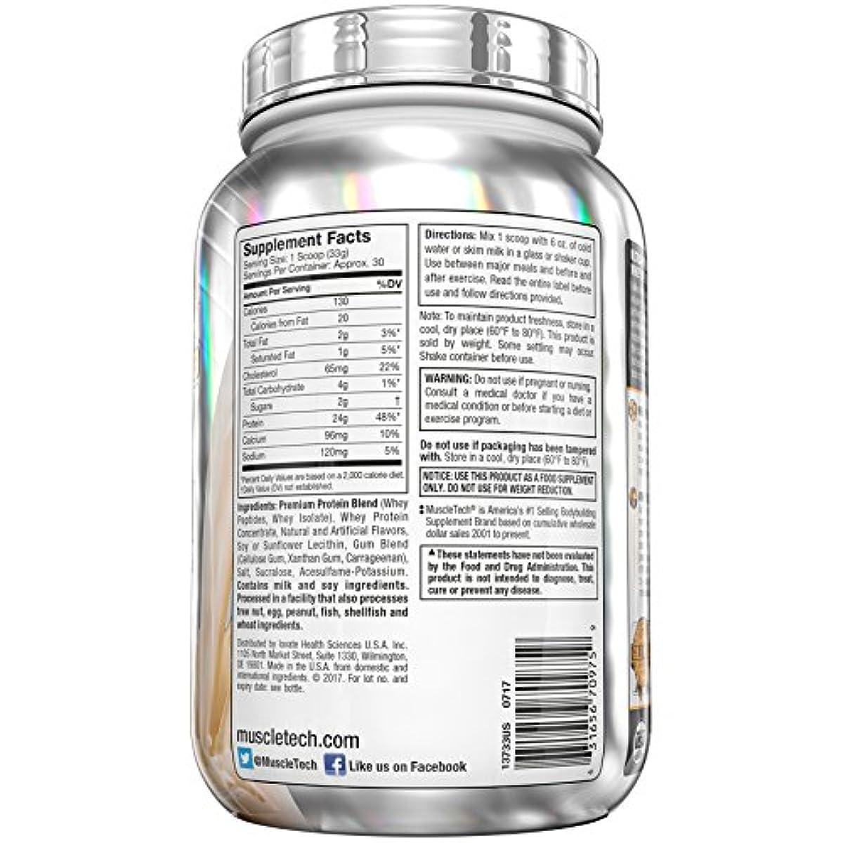 MuscleTech Premium Gold 100% Whey Protein Powder, Vanilla ...