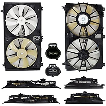 New Cooling Fan Assembly Pontiac G8 2008-2009 GM3115221 92191942