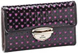 Love Moschino I Love Heart Wallet JC5537PP1XLK0000 Wallet,Black,One Size, Bags Central