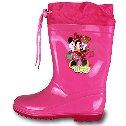 Stiefel - Kinderstiefel - Schuhe - Gummistiefel Kinder Disney mit Modellauswahl Minnie Rosa
