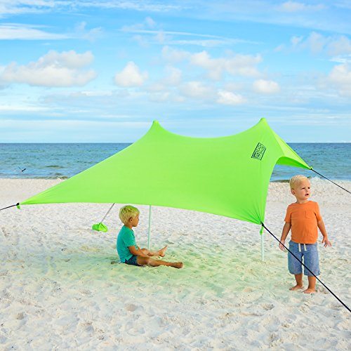 Best XL Portable Beach Shade Sun Shelter Canopy Sail Tent Large Sunshade Includes & Best XL Portable Beach Shade Sun Shelter Canopy Sail Tent Large ...