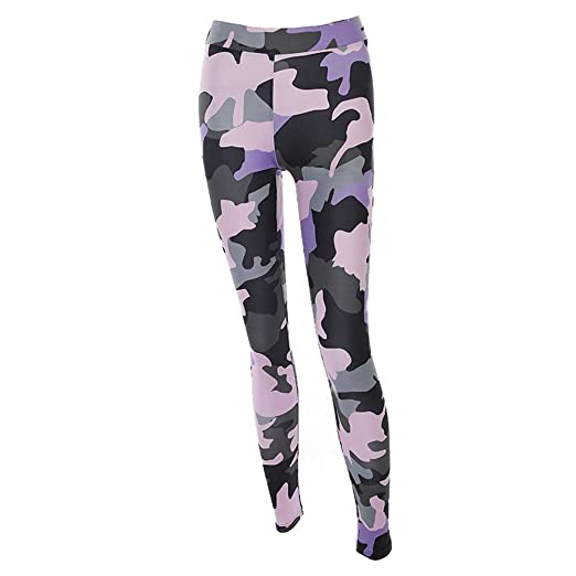 49a8c439365d0 Amazon.com: Clearance Sale! Women Pants WEUIE Women Camouflage Sports Yoga  Workout Gym Fitness Exercise Athletic Pants: Clothing