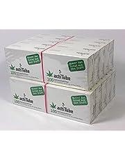 actiTube 2000 Filtro de carbón Activo 20x 100er Box Pantalla 9mm eindreh Filtro Silbato en ACTI Tube Tune Filtro Tips Filtro Tips Carbón Activo