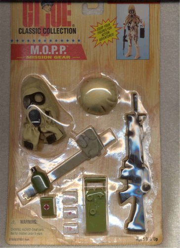 Gi Gear Mission Joe (GI Joe Classic Collection Mission Gear M.O.P.P. Gear)