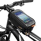 Ibera Bicycle Top Tube Phone Bag for 5