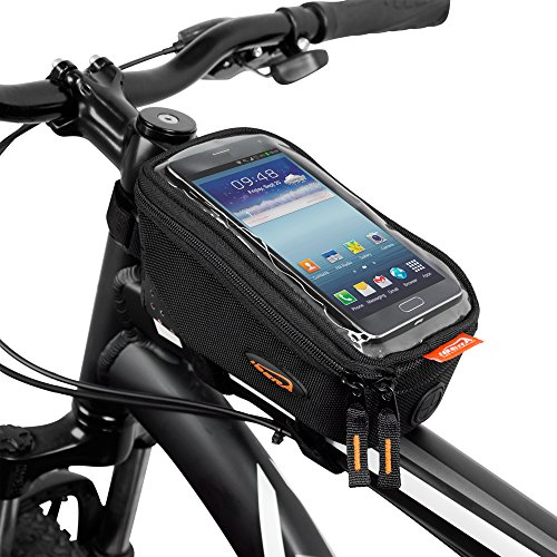 Ibera Bicycle Top Tube Phone Bag for 5