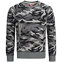 Puma Men's Camo Print Crew Neck Sweater