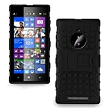 Microsoft Nokia Lumia 830 Case for Microsoft Nokia Lumia 830 with 1 Stylus Pen (For Microsoft Nokia Lumia 830, Black).