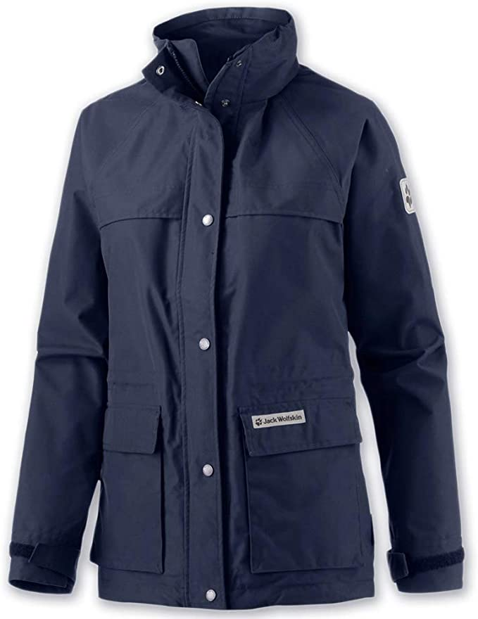 Jack Wolfskin | Damen Jacke | Rainy Days Women | 100% Wasserdicht | Texapore |