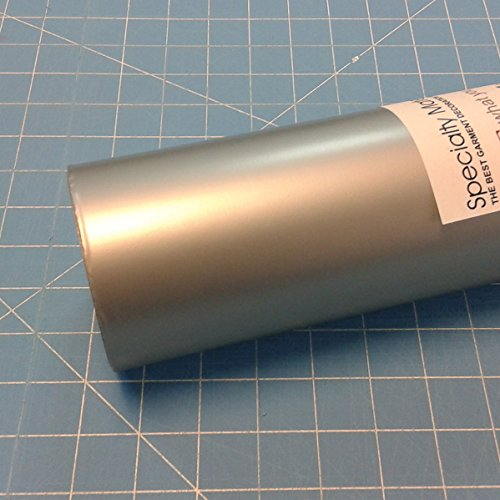 ThermoFlex Plus 15'' x 30' Roll Antique Silver Heat Transfer Vinyl, HTV by Coaches World by Thermoflex