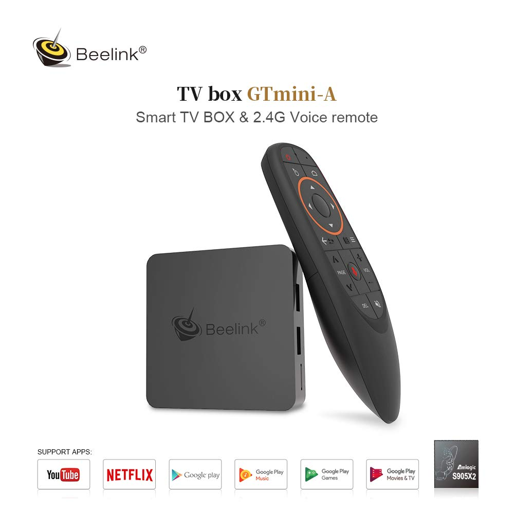 Amazon com: TV Box, HSYPC Android 8 1 Beelink GT Mini A TV